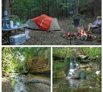 Private Primitive Camping - ユーレカスプリングス - テント