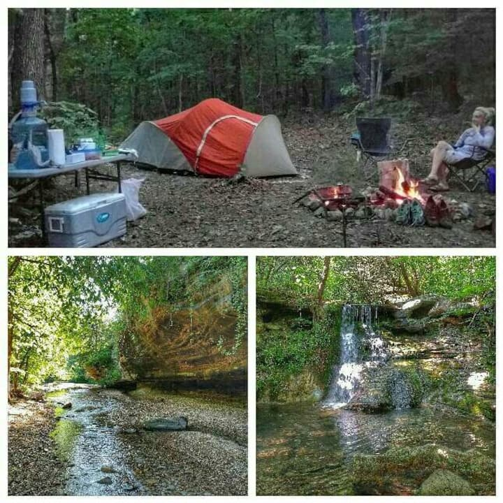 Private Primitive Camping