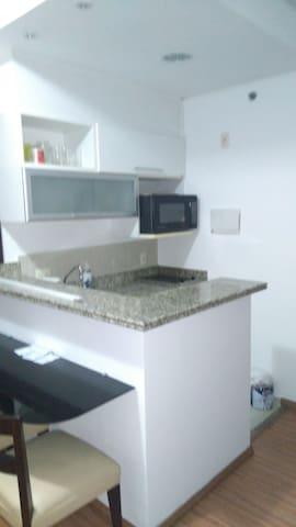 Flat Novo e Aconchegante c/Garagem. - São Caetano do Sul - Apartment