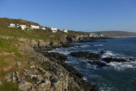 Seacroft holiday home with sea views - Mortehoe - 附屬單元(In-law)
