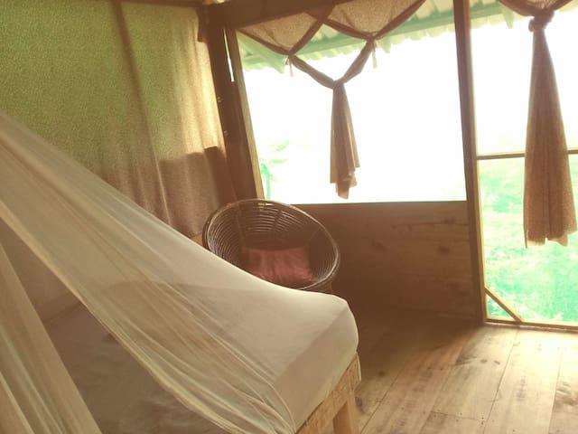 papagayo cabañas balamjuyuc mazunte vista al mar