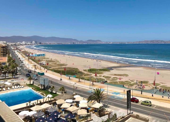 On Playa, beautiful view 2B/2B- Wifi+Netf- Parking