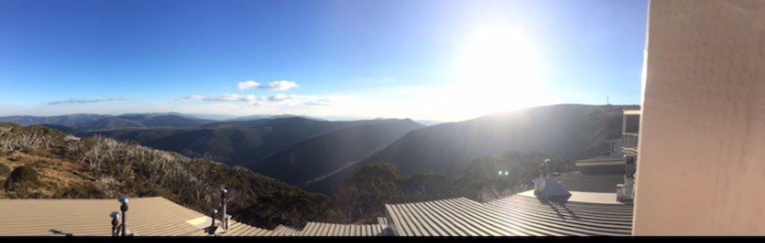 Alpine Heights, spectacular views from veranda!