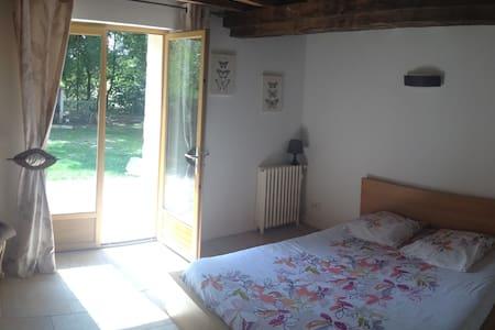 Chambre dans longère girondine - Isle-Saint-Georges