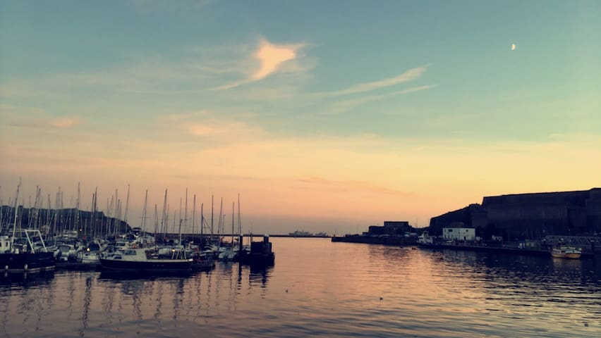 Plymouth Barbican - 20 minute drive away.