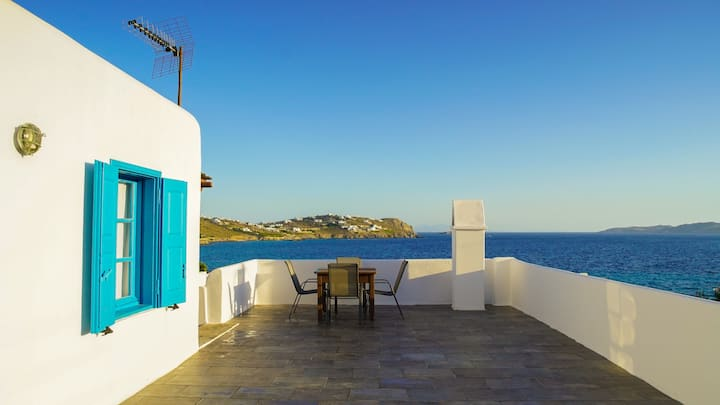 House with amazing seaview and sunset in Ag.Ioanis