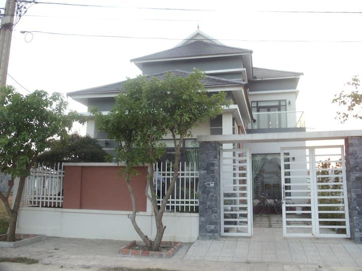 Villa on Island with balcony