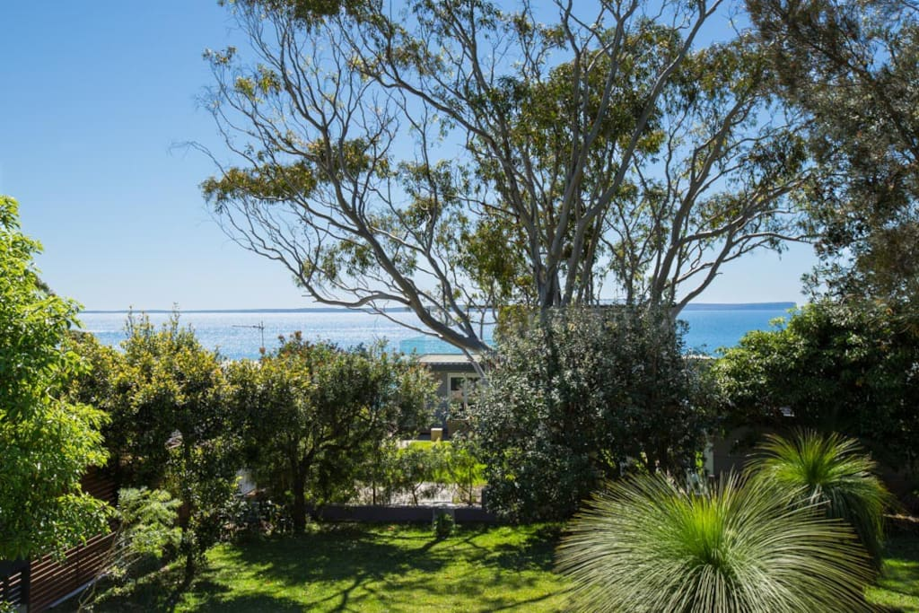 View from rear deck to Jervis Bay