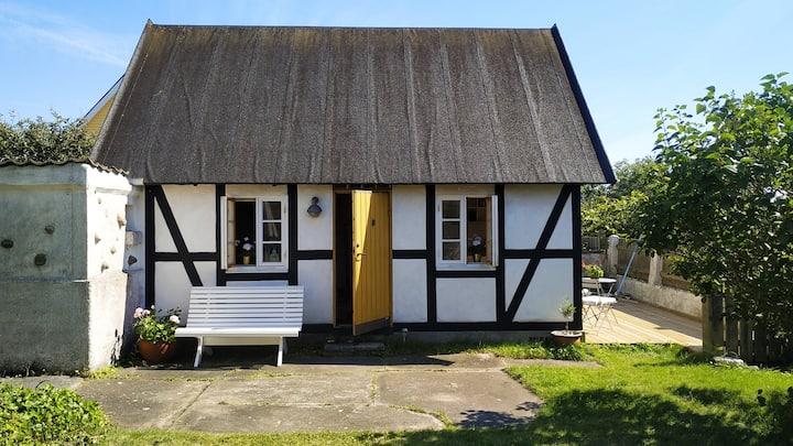 Beachfront cottage in lovely Strandbaden