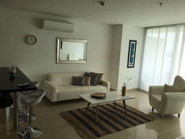 Apartamento Seaway (Sonesta) Playa, Piscina 1106 - La Boquilla - Квартира