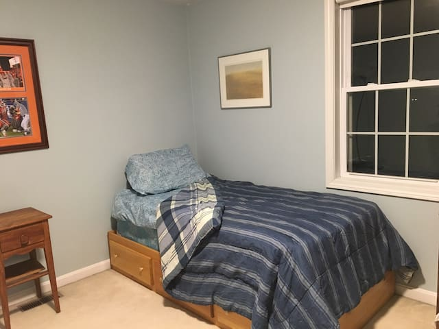 The Blue Room -- Comfy room in shared house - Lakeville - House