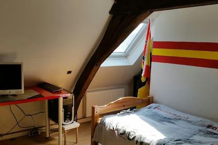 Chambre à louer dans maison sur villeneuve d ascq. - Villeneuve-d'Ascq - Ev