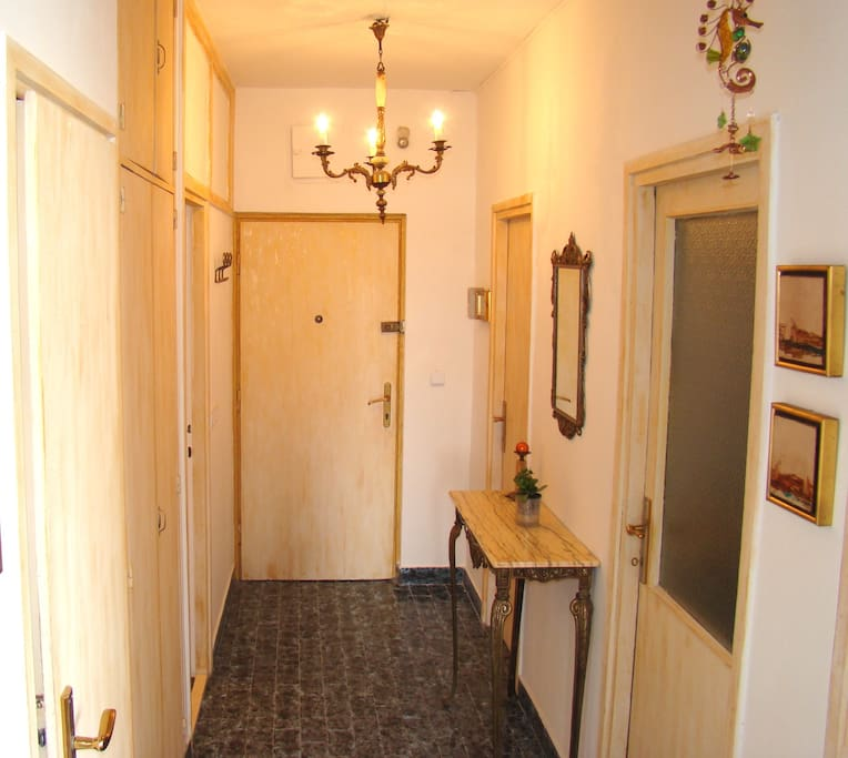 hall with entrance