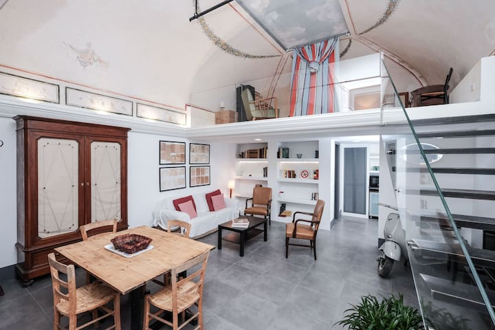 The apartment was recently refurnished with a modern design