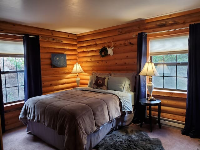 🐻Cabin Private Room - Amazing Views & Cozy