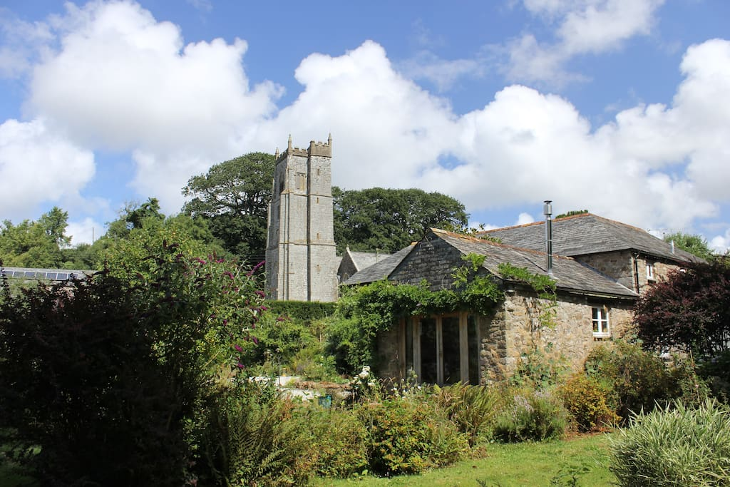 Willow Mill and church