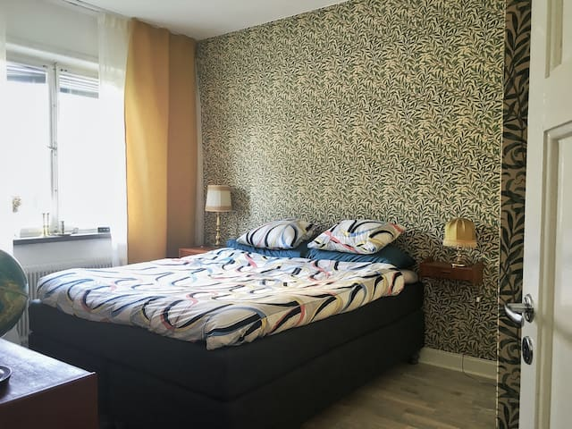 2 bedrooms, ESC 10 min away - Estocolmo - Apartamento