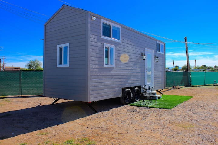 Situated on the grounds of the charming El Pais Vintage Trailer Campground and Motel.