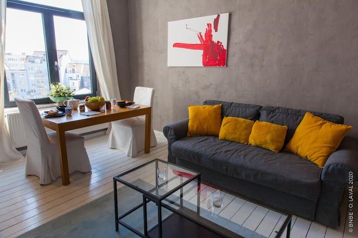 Mooie Airbnb - Terras & Uitzicht ⌖ Forest National