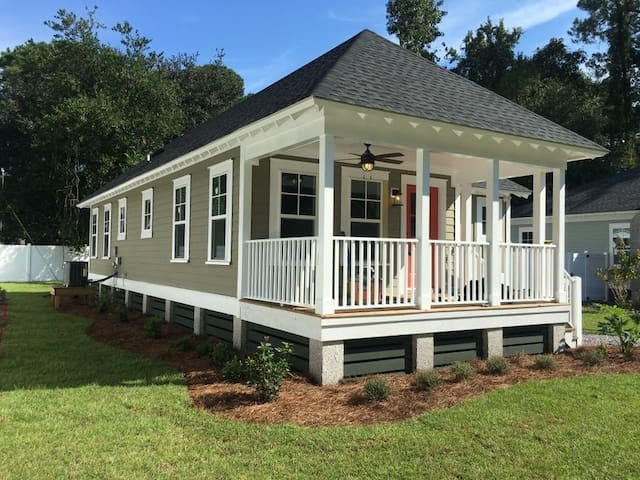 +++QUIET + PRIVATE Cottage on Isle of Hope - Savannah - Hus