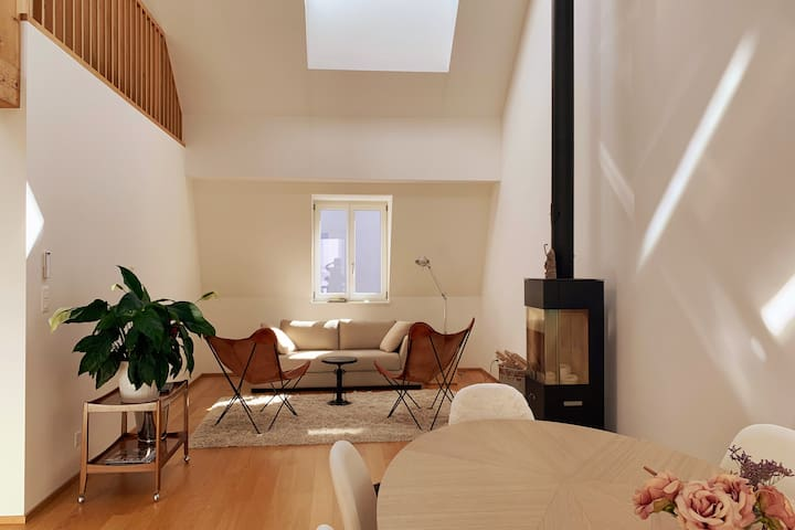 Boutique loftstyle apartment in the heart of Basel