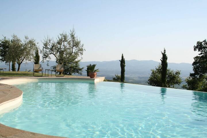 Romantic Nest on Tuscany Hills - Loro Ciuffenna - Apartment
