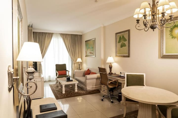 Luxury 1 Bedroom Apartments with daily cleaning