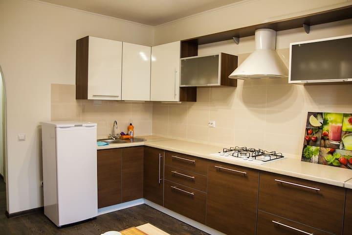 Светлая просторная квартира SMART на Вишневой