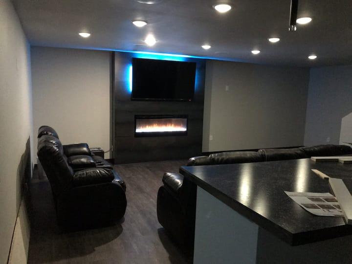 Private 1500 sf. basement