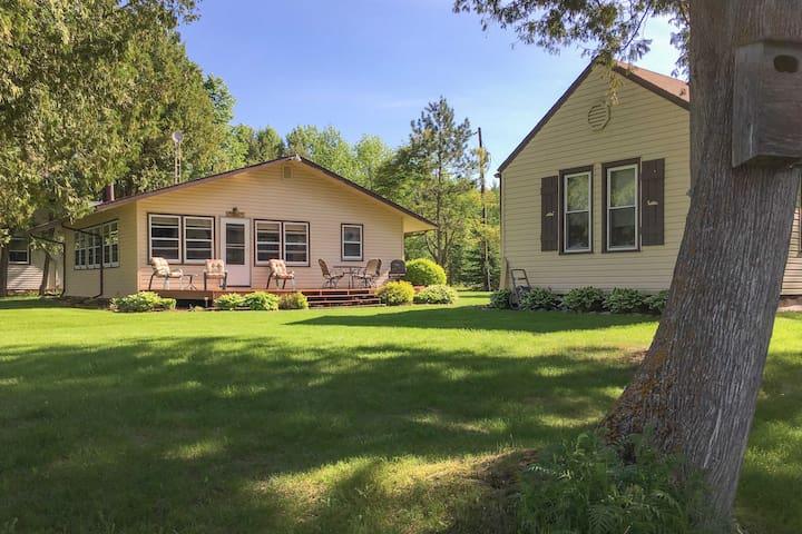 NEW! Bowstring Lake Multi-Cabin Property w/ Decks!