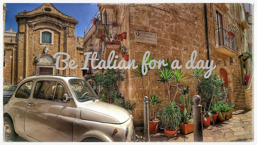 Be Italian for one day