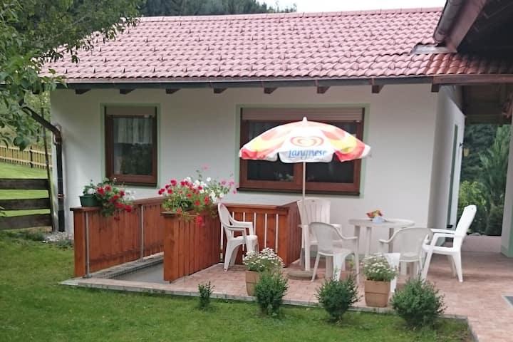 Spaziosa casa vacanze a Tannenberg dotata di sauna