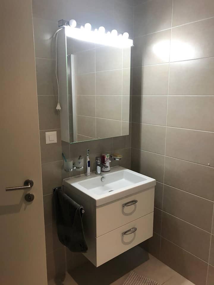 Imprenable vue chambre avec salle eau privatif