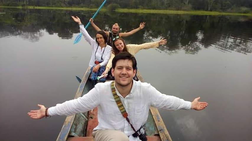 Aventura en el Río Amazonas-wimba Perú - Iquitos