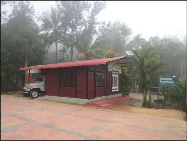 5 bed Jungle cottage in Mudumalai mountain view