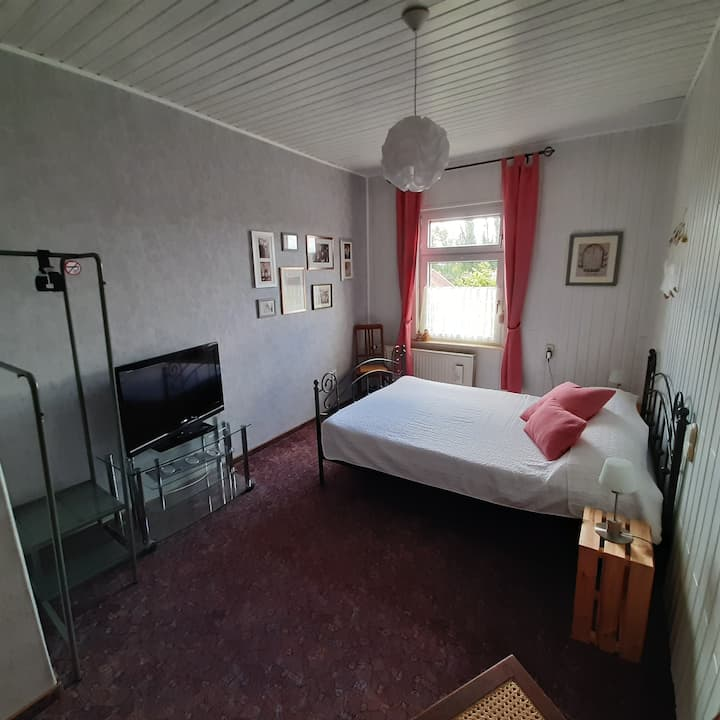 """Wohnen im alten Kaufhaus """"Artistenzimmer"""""""