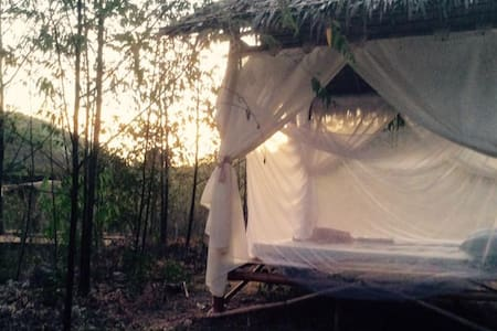 Backpackers Camping Hut - Busuanga - Hutte