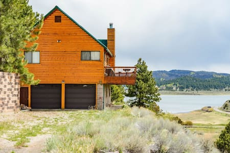Scenic Panguitch Lake Cabin - Awesome views of the lake - Sleeps 12 in beds