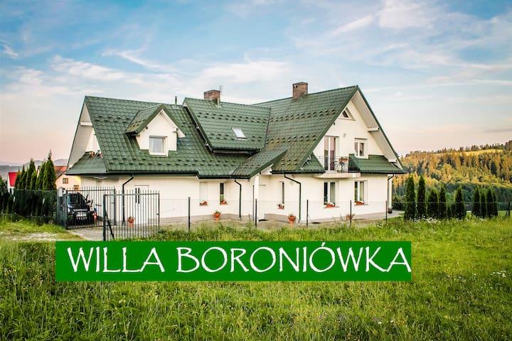 WILLA BORONIÓWKA Falsztyn nad Jeziorem Czorsztyn