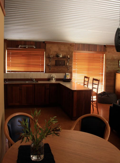Fully Equipped Kitchen - Dining