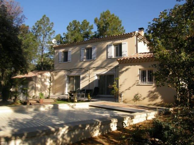 Villa familiale au pied du Mont Ventoux - Bédoin - Villa