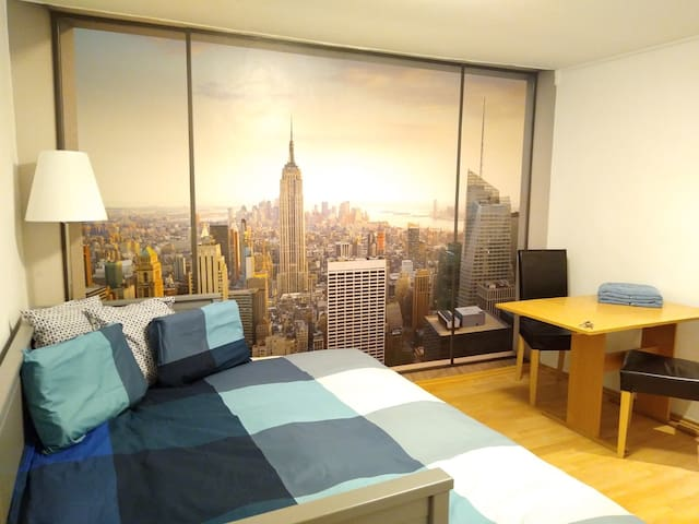 The Big City in a Compact Apartment