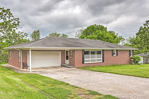 NEW! Macon Ranch-Style Family Home w/ Yard + Deck!