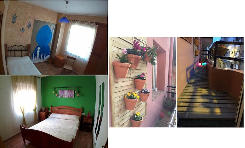 Charming appartment bright and quite clomplete - อาลิกันเต - บ้าน