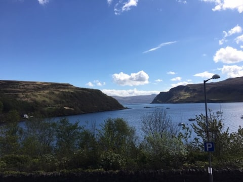 Seaview:  Portree Townhouse with Spectacular Views