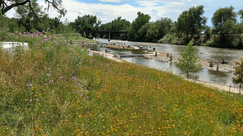 Tiny House Special on the Platte River!! (Monthly)