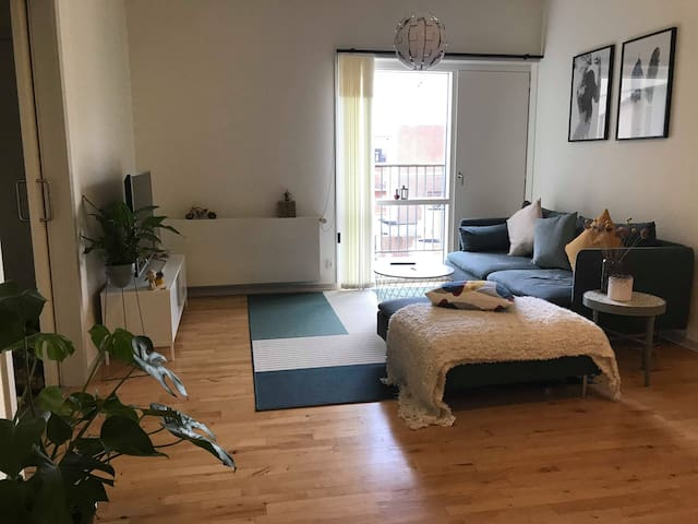 Bright apartment in Esbjerg city centre