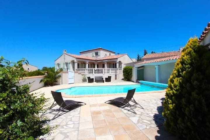 Beautiful villa in South of France - Boutenac - Villa