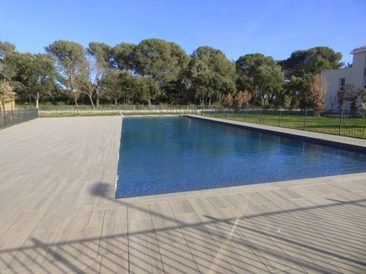 Bel Appart. classé 3* avec piscine / 7 couchages