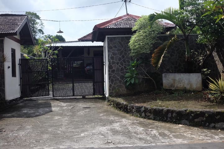 Pagar Depan (The Entrance Gate)
